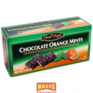MaitreTruffout Chocolate Orange Mints