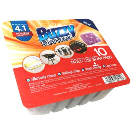 Buzzy Soap Pads