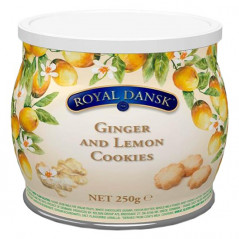 Royal Dansk Ginger Lemon Cookies