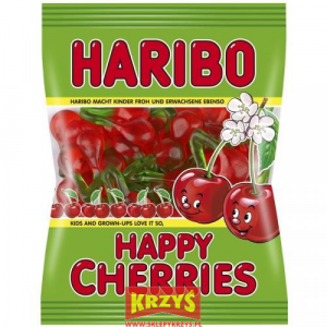 Żelki Haribo Happy Cherries wisienki