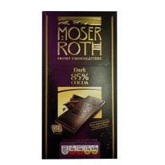 Moser Roth Dark 85% Cocoa 2pack