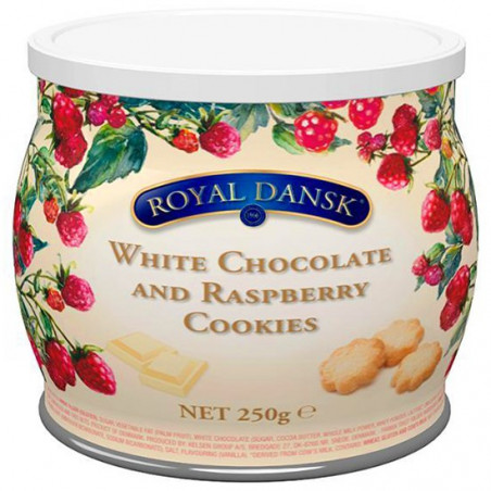 Royal Dansk White Chocolate And Raspberry