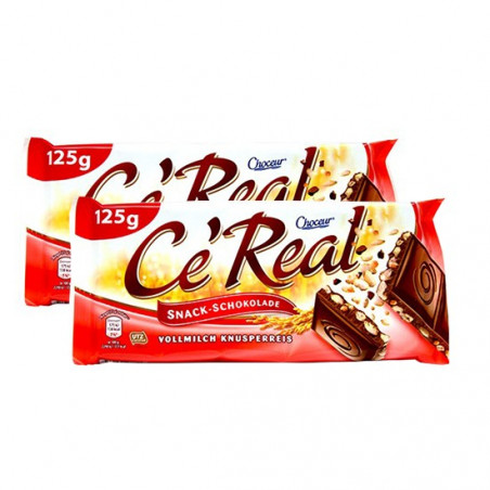 Choceur Ce'real Vollmilch Knusperreis 2pack