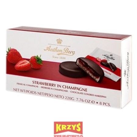 Anthon Berg Strawberry in Champagne
