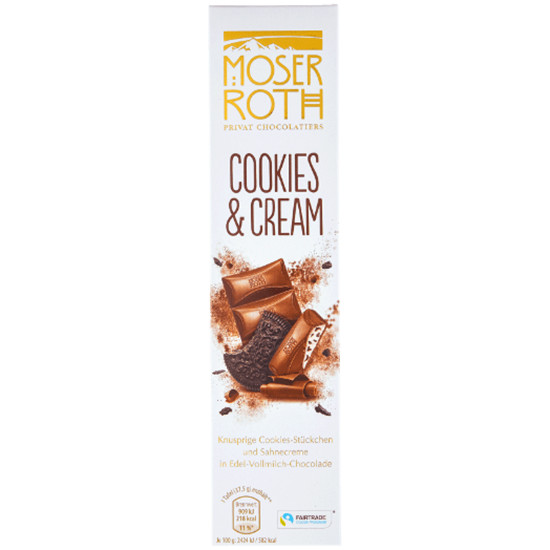 Moser Roth Cookies & Cream