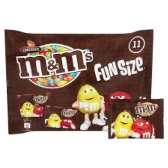 M&M's & Fun Size