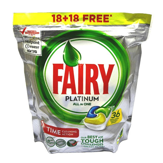 Fairy Platinum 36szt